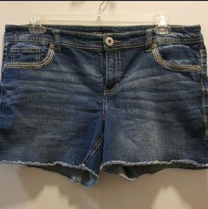 Maurices Denim Shorts